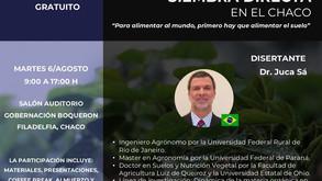 Dr. Juca Sá, Disertante del 1er. Simposio de Siembra Directa en el Chaco