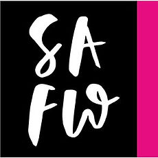 Jen Roffe logo design St Albans Fashion week brush lettering