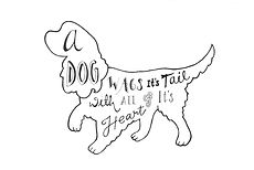 Jen Roffe personalised dog illustration