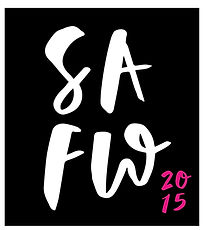 St Albans Fashion Week 2015 Square Logo black white and pink