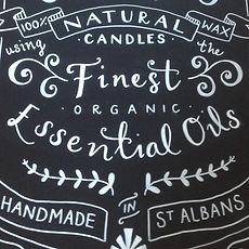 Jen Roffe Hand lettered Chalkboard St Albans apocothery