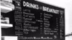 Jen Roffe chalkboards coffee tea breakfast menu