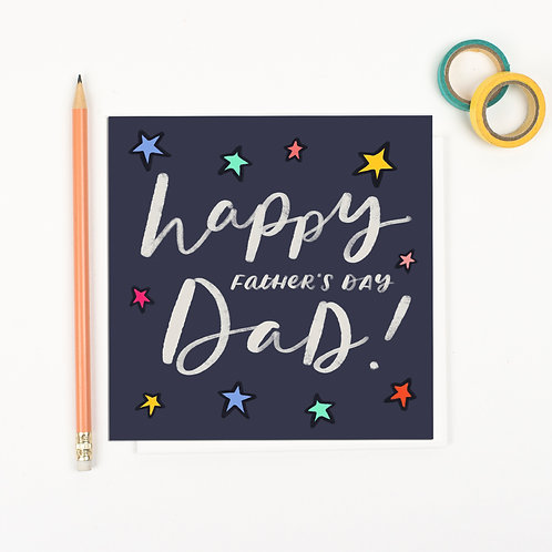 Happy Father's Day Dad - Father's Day card