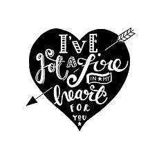 Jen Roffe Personalised hand drawn first dance lyrics print