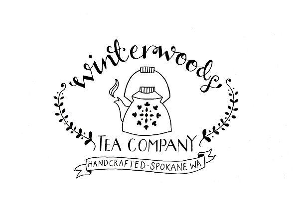 Jen Roffe logo teapot illustration