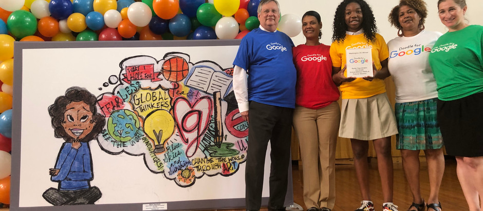 School Without Walls at Francis-Stevens Student Chosen as Winner for Washington, D.C. in Doodle for