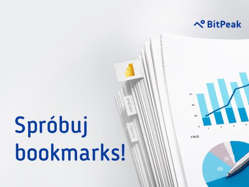 Spróbuj bookmarks w Power BI