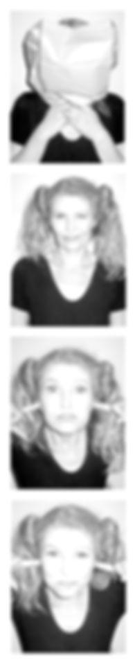 """dorothea flatau .""""bärbel"""" . inszenierte fotografie mit selbstauslöser"""