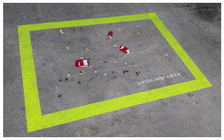 raucherbereich - installation