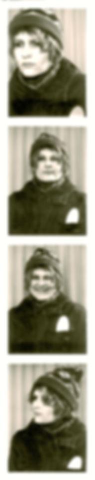 """dorothea flatau .""""jupp"""" . inszenierte fotografie mit selbstauslöser"""