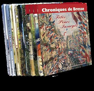 couvertures livres Chroniques de Bresse