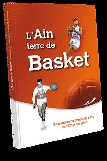 couverture livre basket du comité de l'Ain
