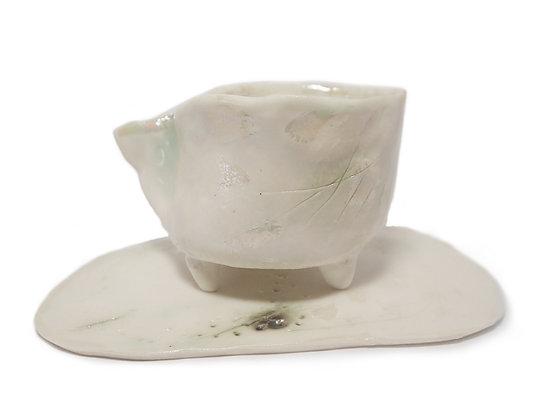 Huldufólk teacup and saucer