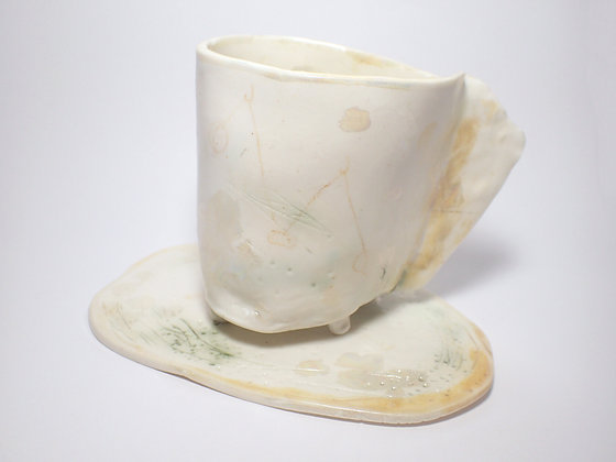 Huldufólk Series 2, teacup and saucer