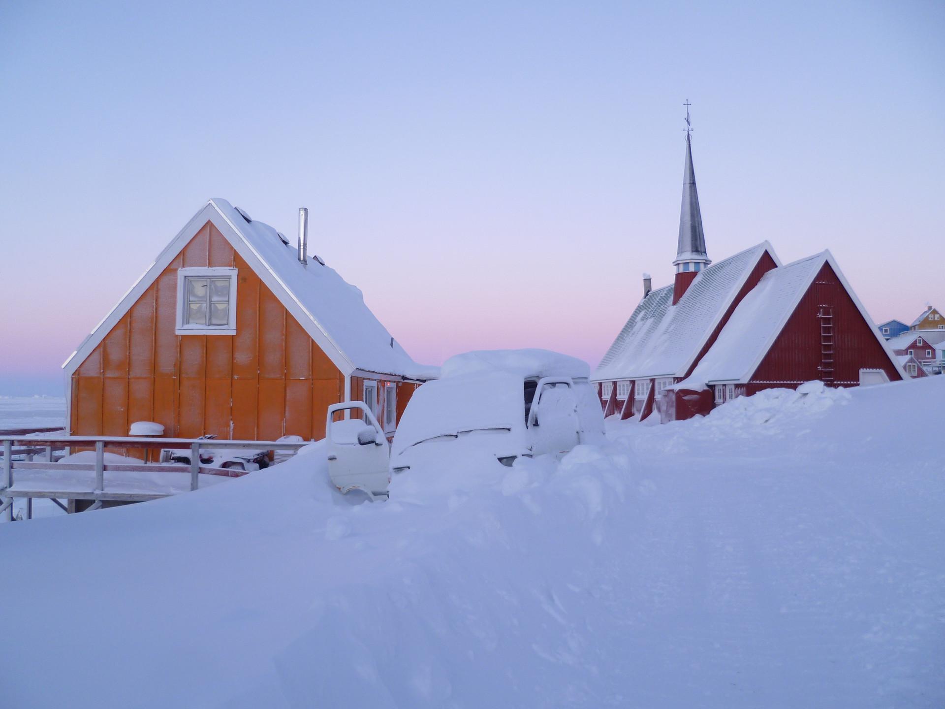 Upernavik, street