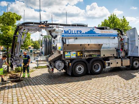 Leistungsstark und leise - FFG Umwelttechnik setzt auf Samson Pumps