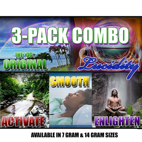 3-Pack Combo