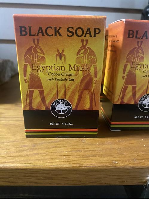 Egyptian Musk Black Soap