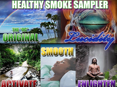 Healthy Smoke Sampler