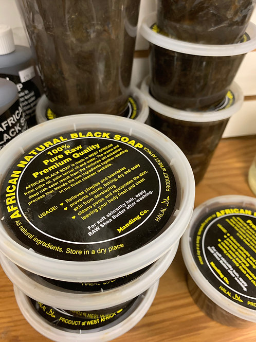 African Natural Black Soap