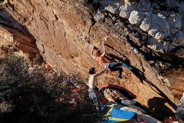 Bouldering in Oak Creek