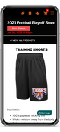 Live Example Sports Store Product Details