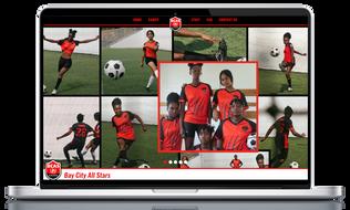 Live Example Club Homepage