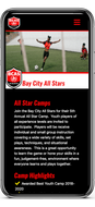 Live Example Club Mobile Homepage