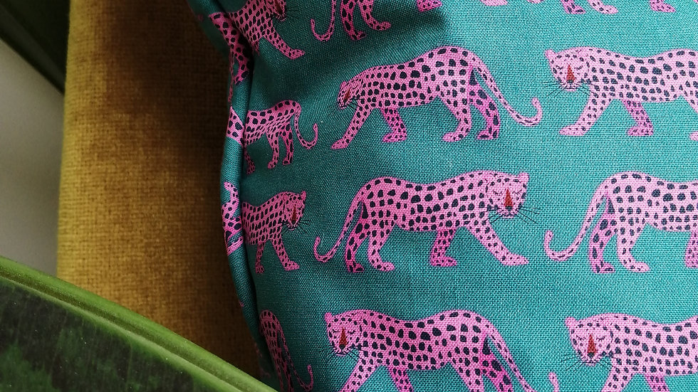 Night Jungle Cushion with insert