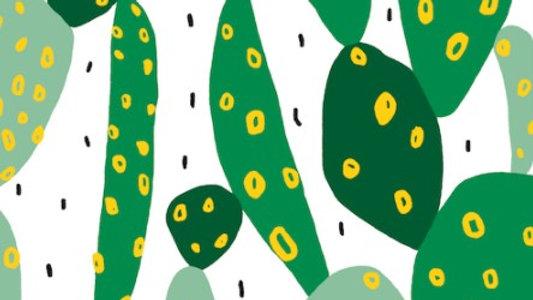 Cactus - Cotton Canvas