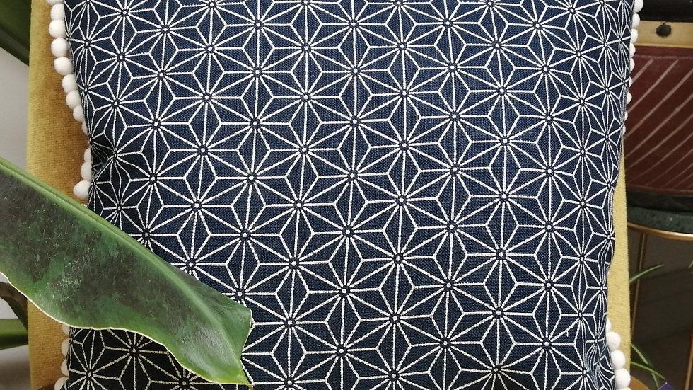 Geometric Star Cushion with insert
