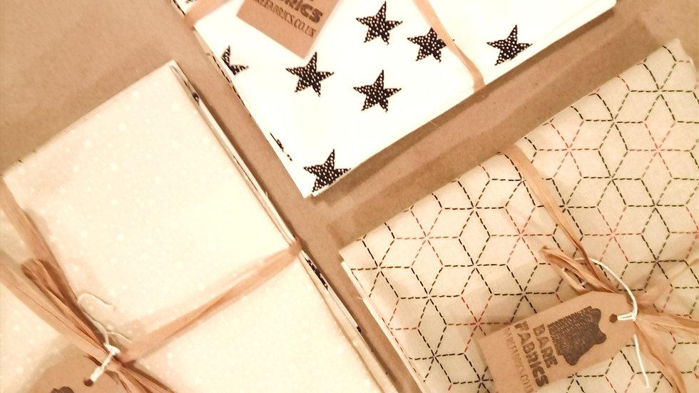 'Stars' Fat Quarter Bundle of 4