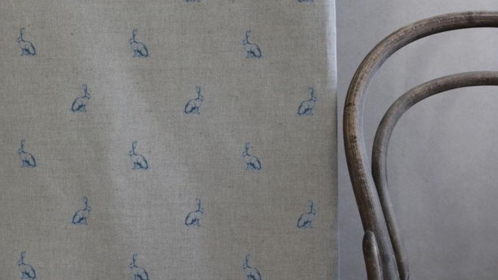 Bunny Tail Linen - True Blue