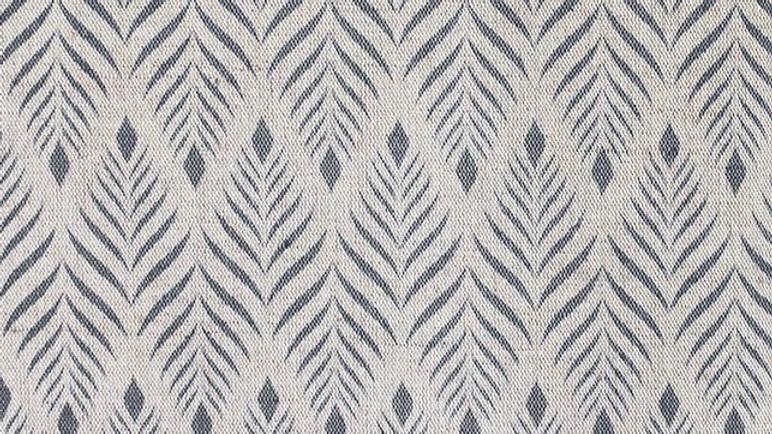 Abstract Grey Linen
