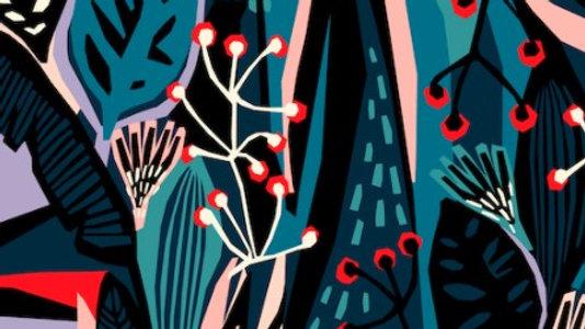 Lush Tropics - Cotton Canvas
