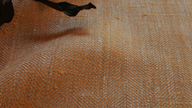 Rustic Herringbone Linen