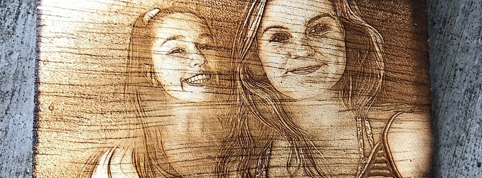 Wood Photo Engraving