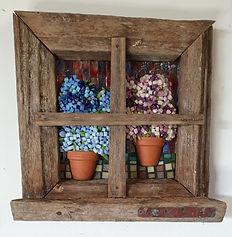 Mosaic window miniture