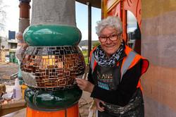 Northland Advocate - Lead Mosaic artist Pat George