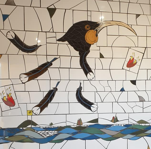 Huia Mosaic in Bathroom