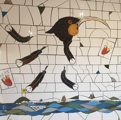 Huia Mosaic in Bathroom