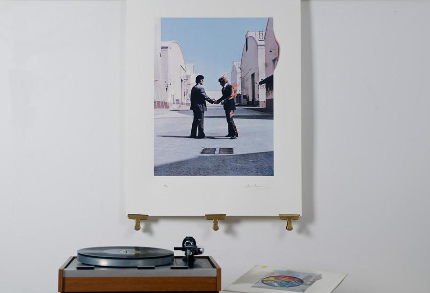 Wish You Were Here silkscreen edition of 295