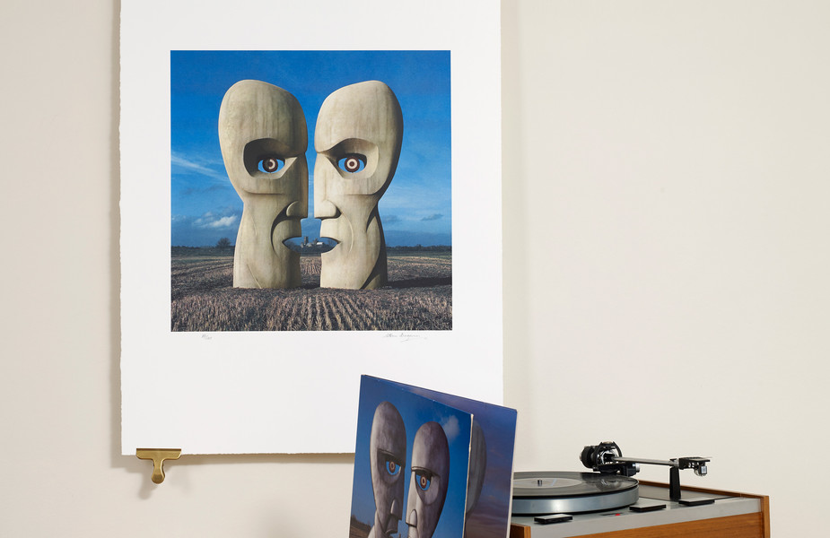 Division Bell - Stone Heads silkscreen edition of 295