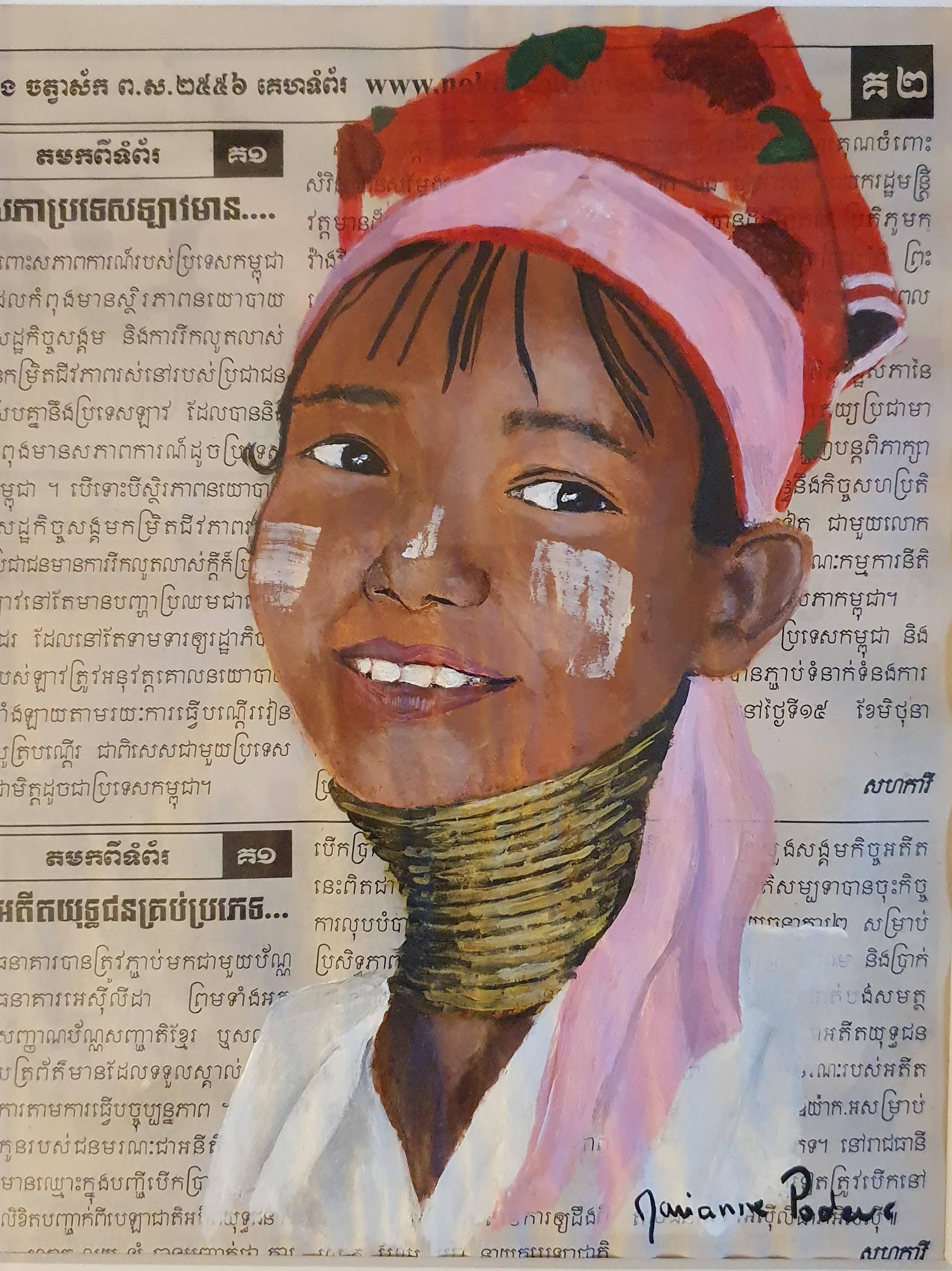 THAILANDE - La fille girafe
