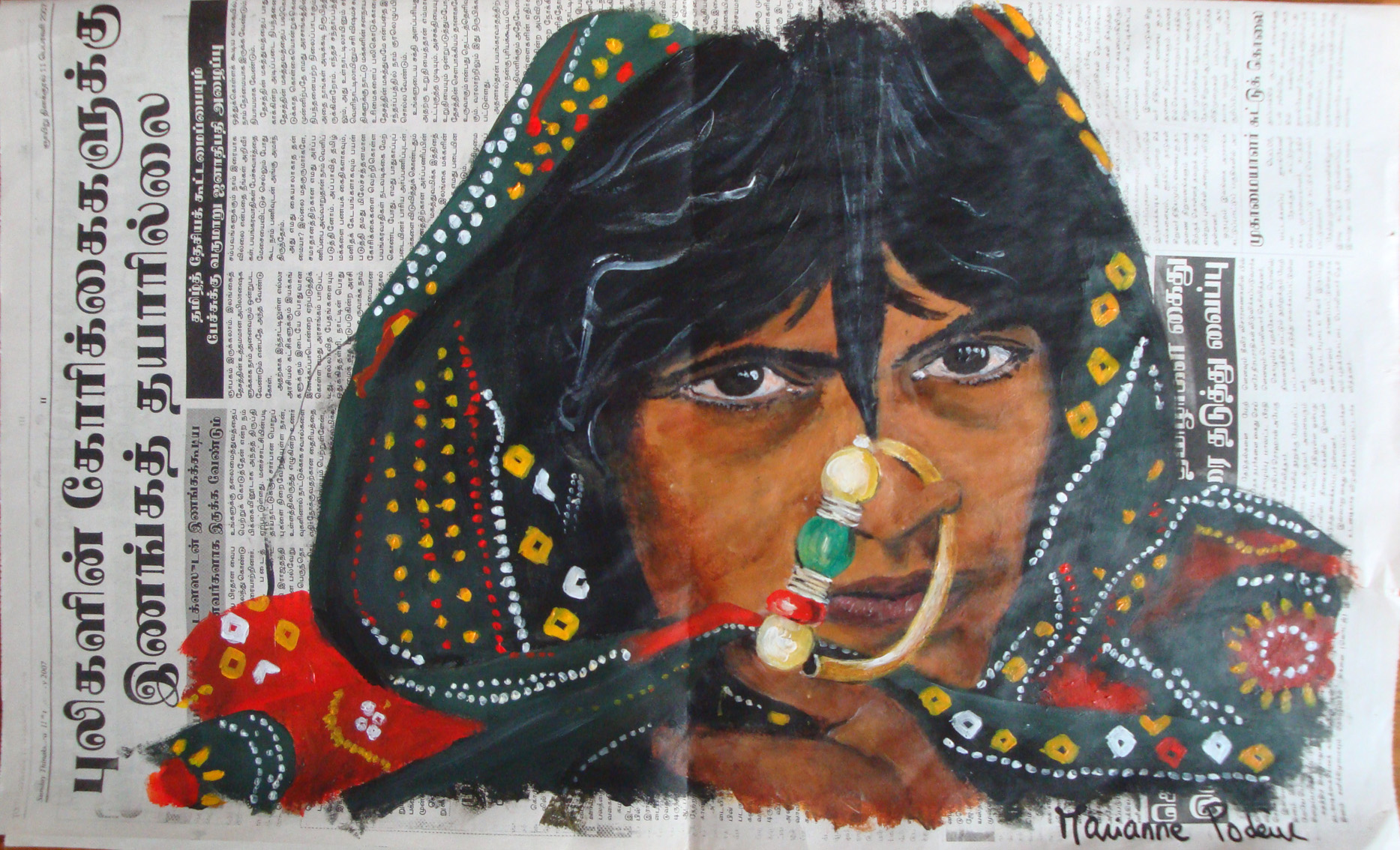 INDE - La tribu Jat