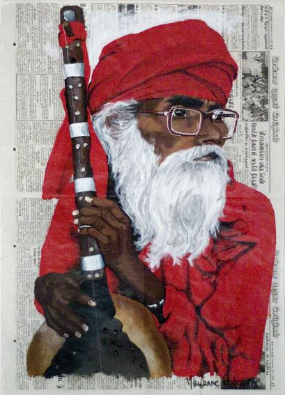 INDE - Le joueur de sitar