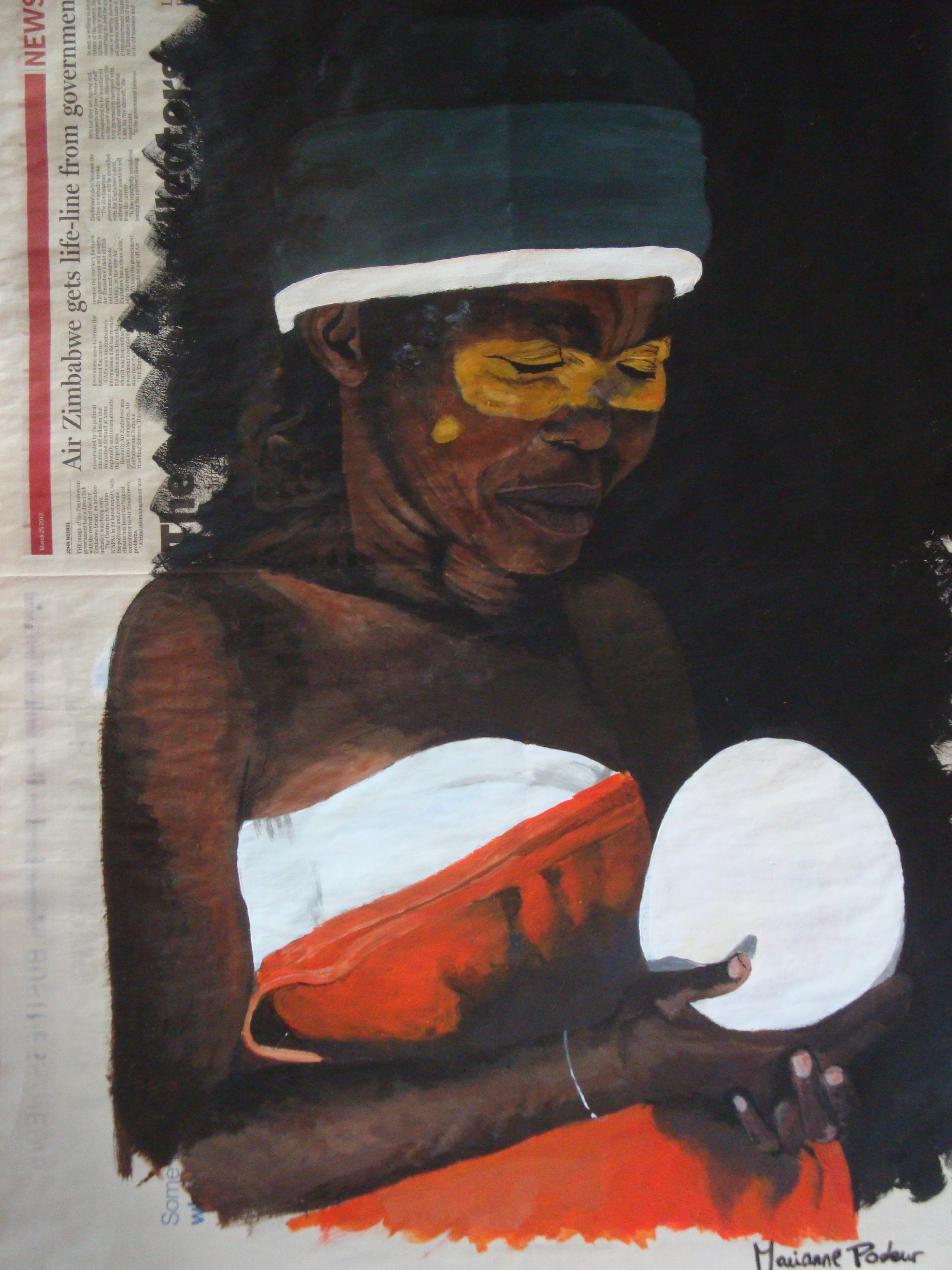 AFRIQUE DU SUD - L'oeuf