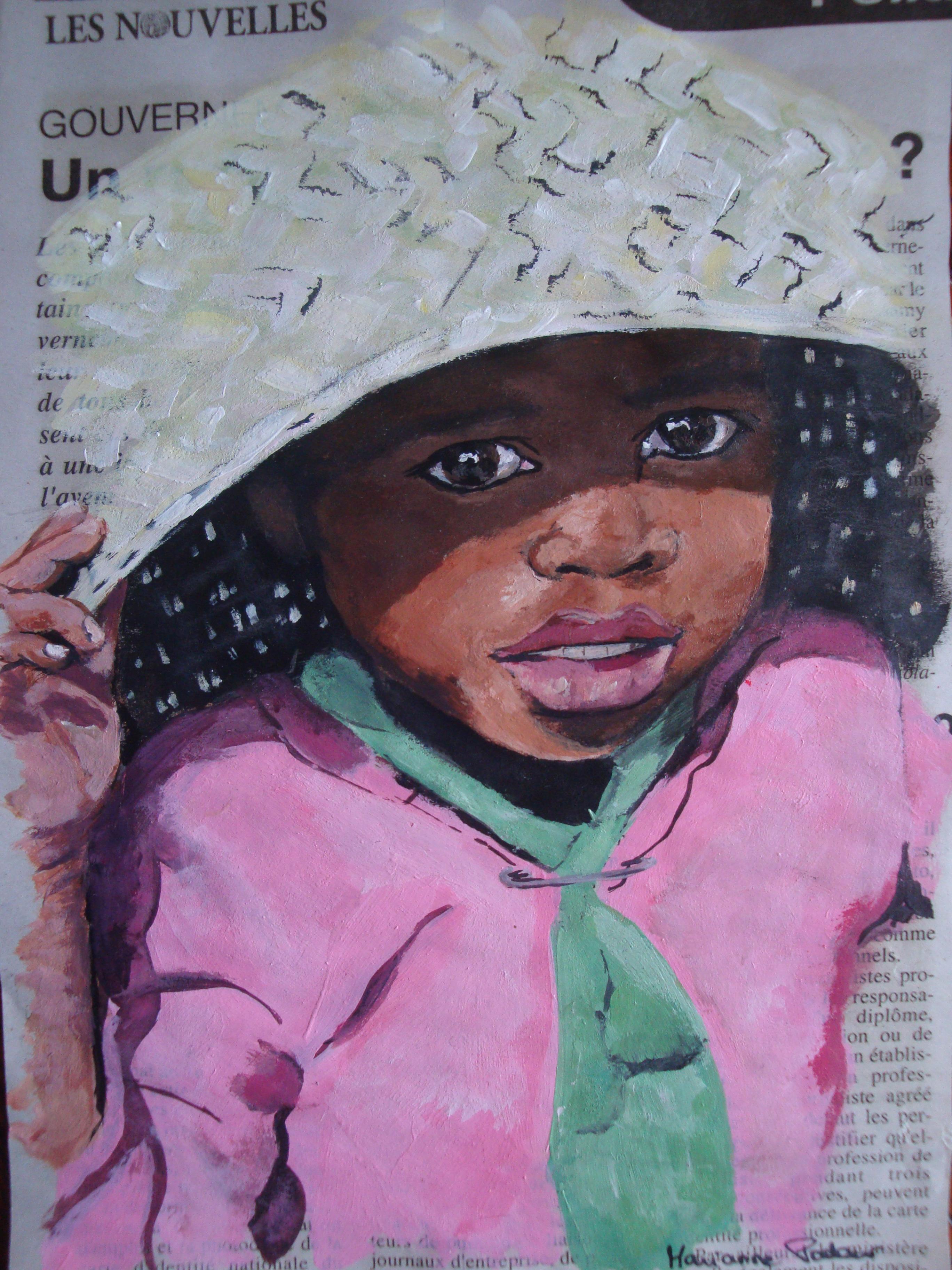 MADAGASCAR - Sous le chapeau