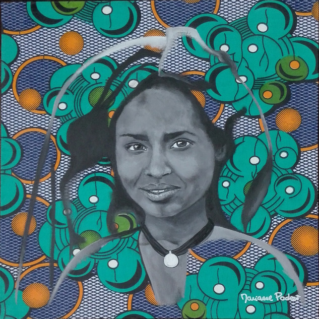 Niger Termit girl