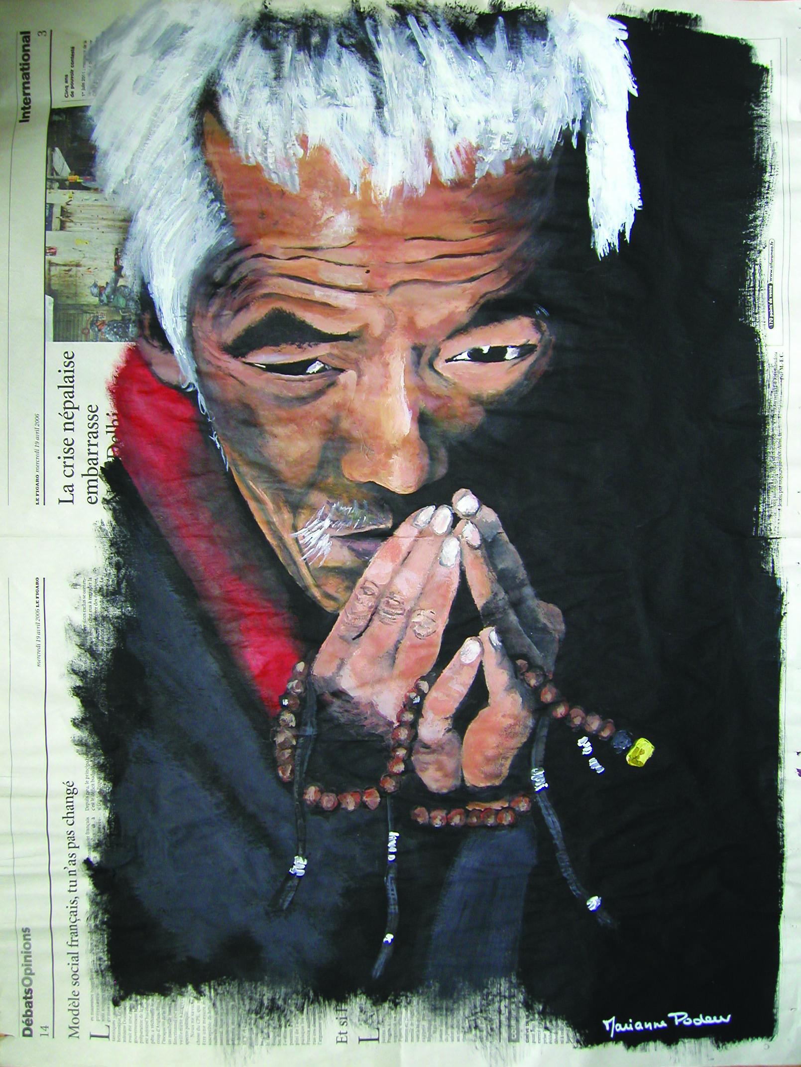 NEPAL - Le chapelet
